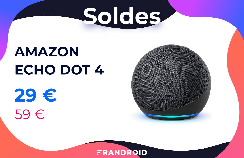 Echo Dot 4 : une mini enceinte connectée à moitié prix pour les soldes