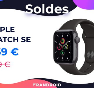 L'Apple Watch SE en solde : 30 € de réduction pour la montre abordable d'Apple