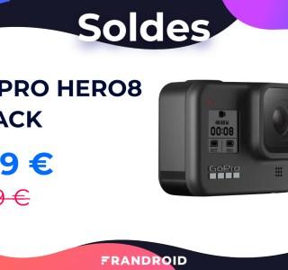 La GoPro Hero8 Black est à seulement 279 € pour les soldes sur Rakuten