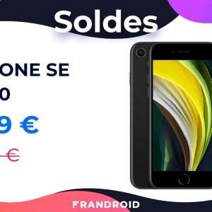 L'iPhone SE 2020 profite d'une baisse de 10 % pendant les soldes