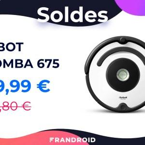 Profitez des soldes pour vous procurer l'iRobot Roomba 675 à 200 euros