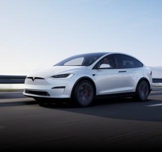 Tesla Model X (2021) officialisé: gros changements esthétiques et version Plaid plus véloce