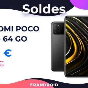 Le Xiaomi Poco M3 doté d'une batterie de 6000 mAh est à 139 € pour les soldes
