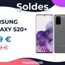 Plus de 300 euros de réduction pour le Samsung Galaxy S20+ sur Cdiscount