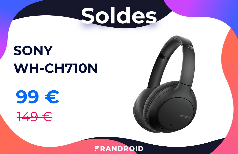 Pour les soldes, la réduction de bruit est à moins de 100 € avec ce casque Sony