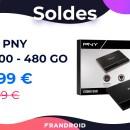 Ce SSD d'une capacité de 480 Go frôle les 40 euros pendant les soldes 2021