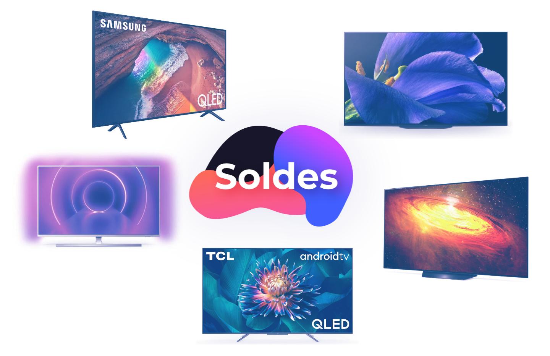 OLED, QLED, LED… Notre sélection TV 4K pour les soldes, à partir de 499 €