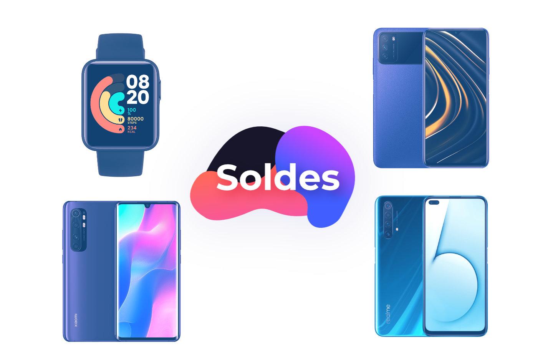 Soldes AliExpress : Poco M3 à 107 euros, Realme X50 à 239 euros et Xiaomi Mi Note 10 Lite à 243 euros