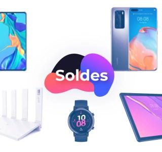 Bons plans d'hiver Huawei: des codes promo font baisser le prix de tous les produits de la marque