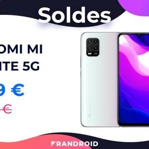 Le Xiaomi Mi 10 Lite compatible 5G est de retour à 269 € pour le soldes
