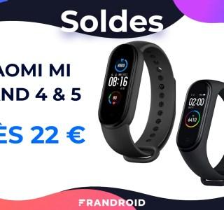Mi Band 4 et Mi Band 5 : les bracelets connectés de Xiaomi font les soldes