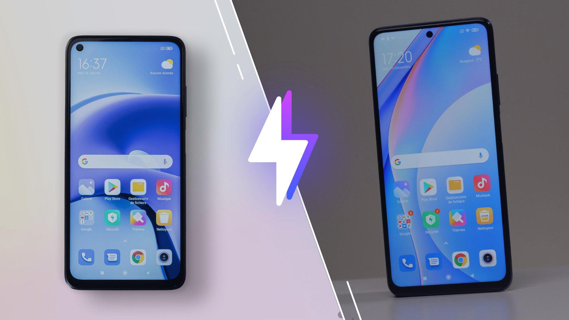 Xiaomi Mi 10T Lite vs Redmi Note 9T: lequel est le meilleur smartphone?