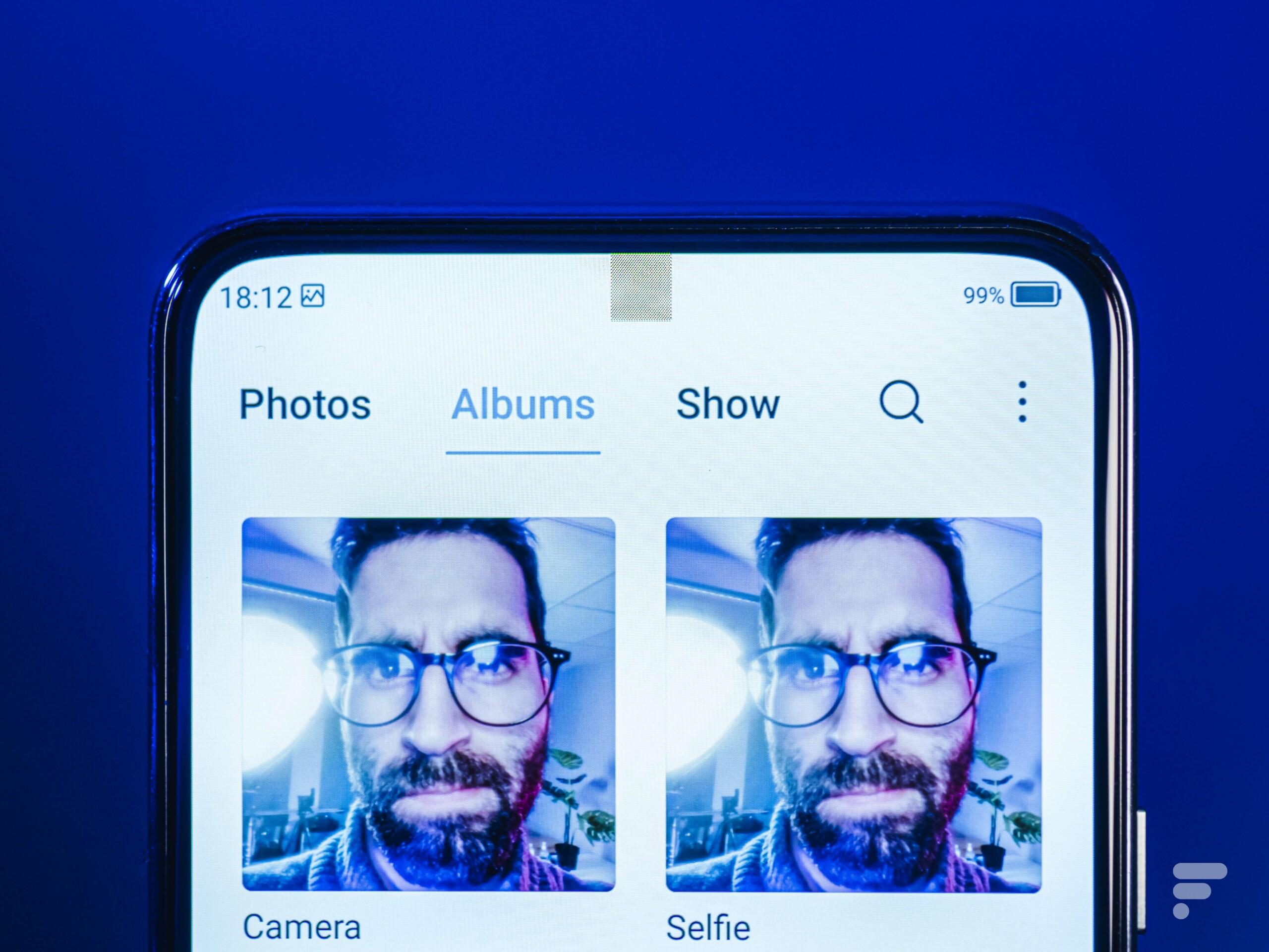 Caméra sous l'écran : Google a peut-être trouvé la solution