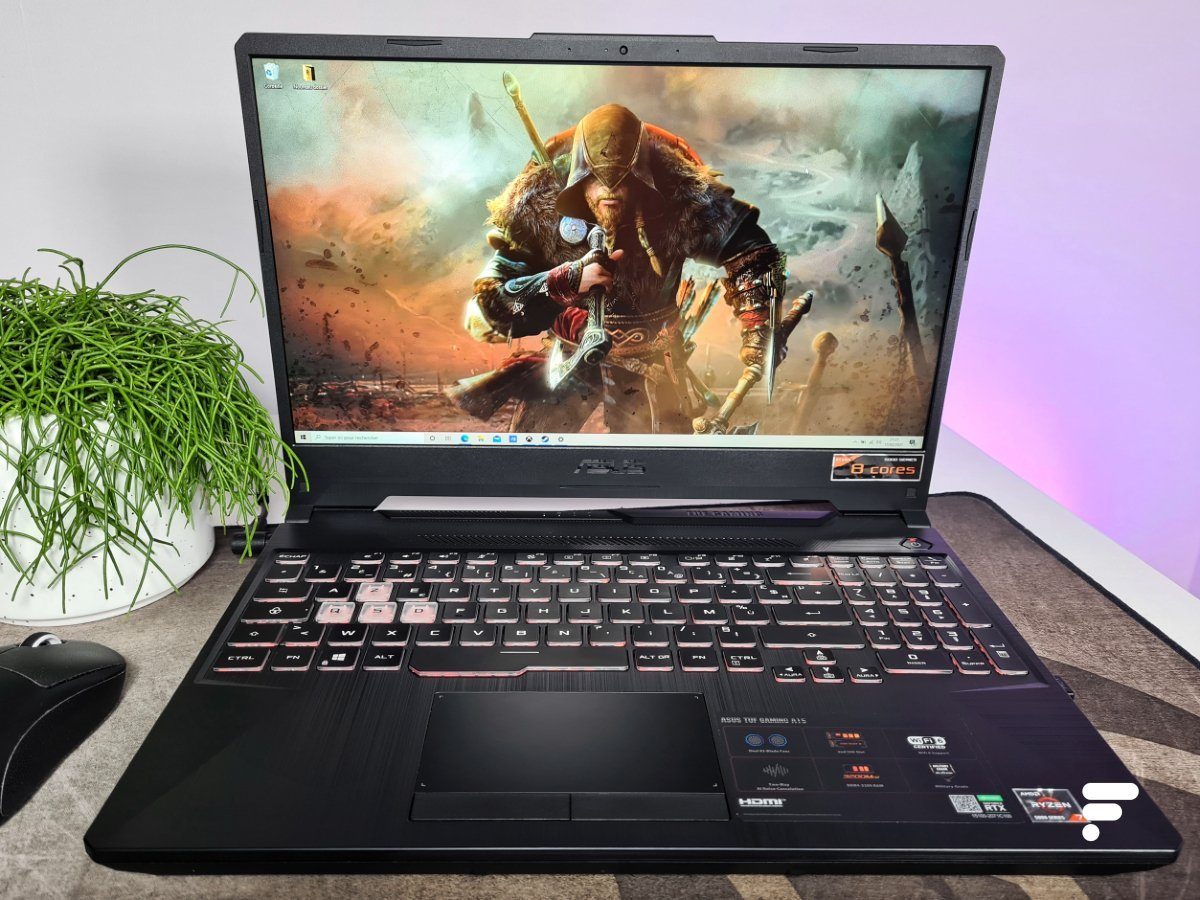 Test de l'Asus TUF Gaming A15 : un duo AMD et Nvidia qui frappe fort