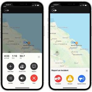 Comme Waze, Apple Plans va désormais permettre de signaler des incidents
