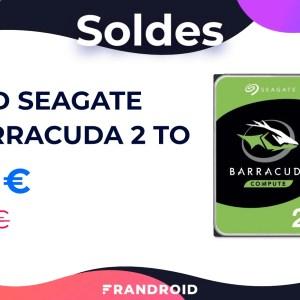 Ce disque dur interne 2 To avec 210 Mo/s au compteur est à moins de 50 €