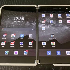 Microsoft Surface Duo 2 : le launcher aussi devrait être repensé