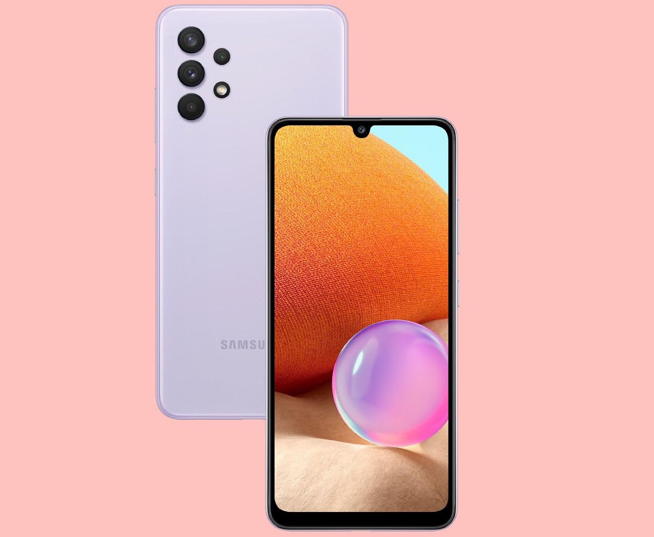 Galaxy A32 4G : Samsung présente une fiche technique plus alléchante que la version 5G
