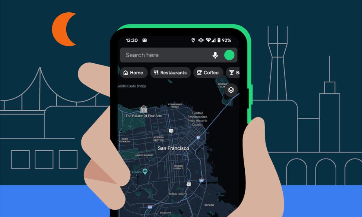 Google Maps : le vrai mode sombre sur Android commence à se déployer massivement