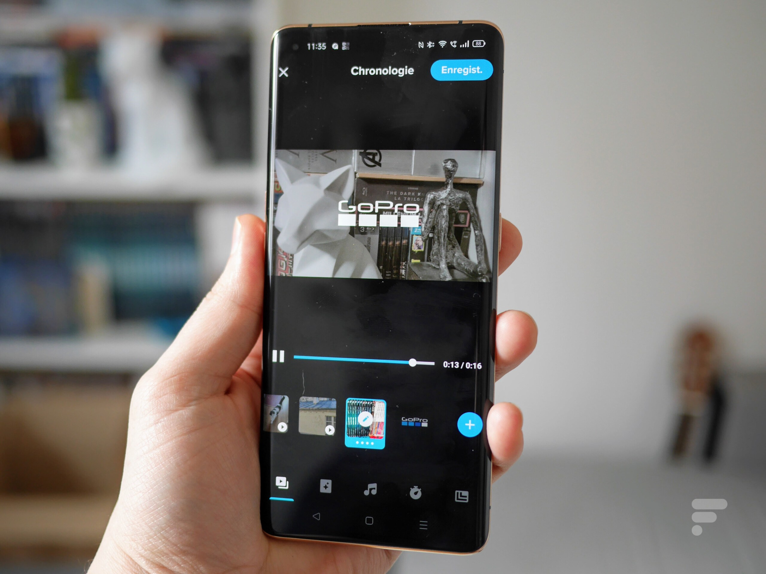GoPro lance une nouvelle version de Quik, son application de montage sur smartphone