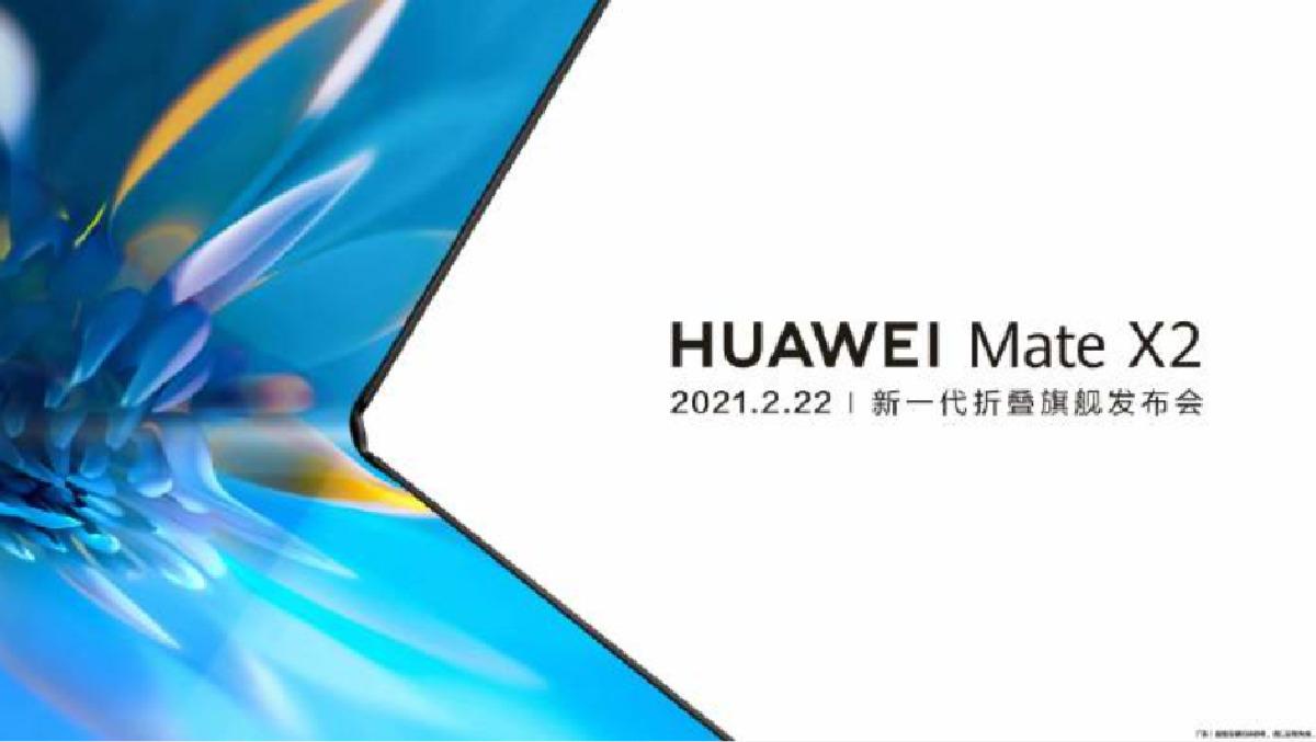 Huawei Mate X2 : la marque confirme une présentation en février