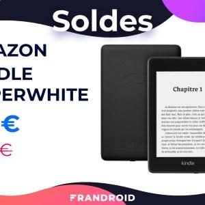 Amazon baisse le prix de sa liseuse Kindle Paperwhite jusqu'à la fin des soldes