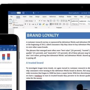 Microsoft Word prendra très bientôt en charge l'écriture prédictive