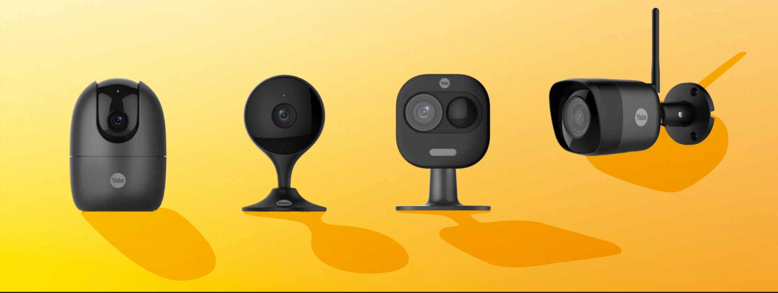 Yale lance quatre nouvelles caméras de surveillance pour la maison à prix abordable