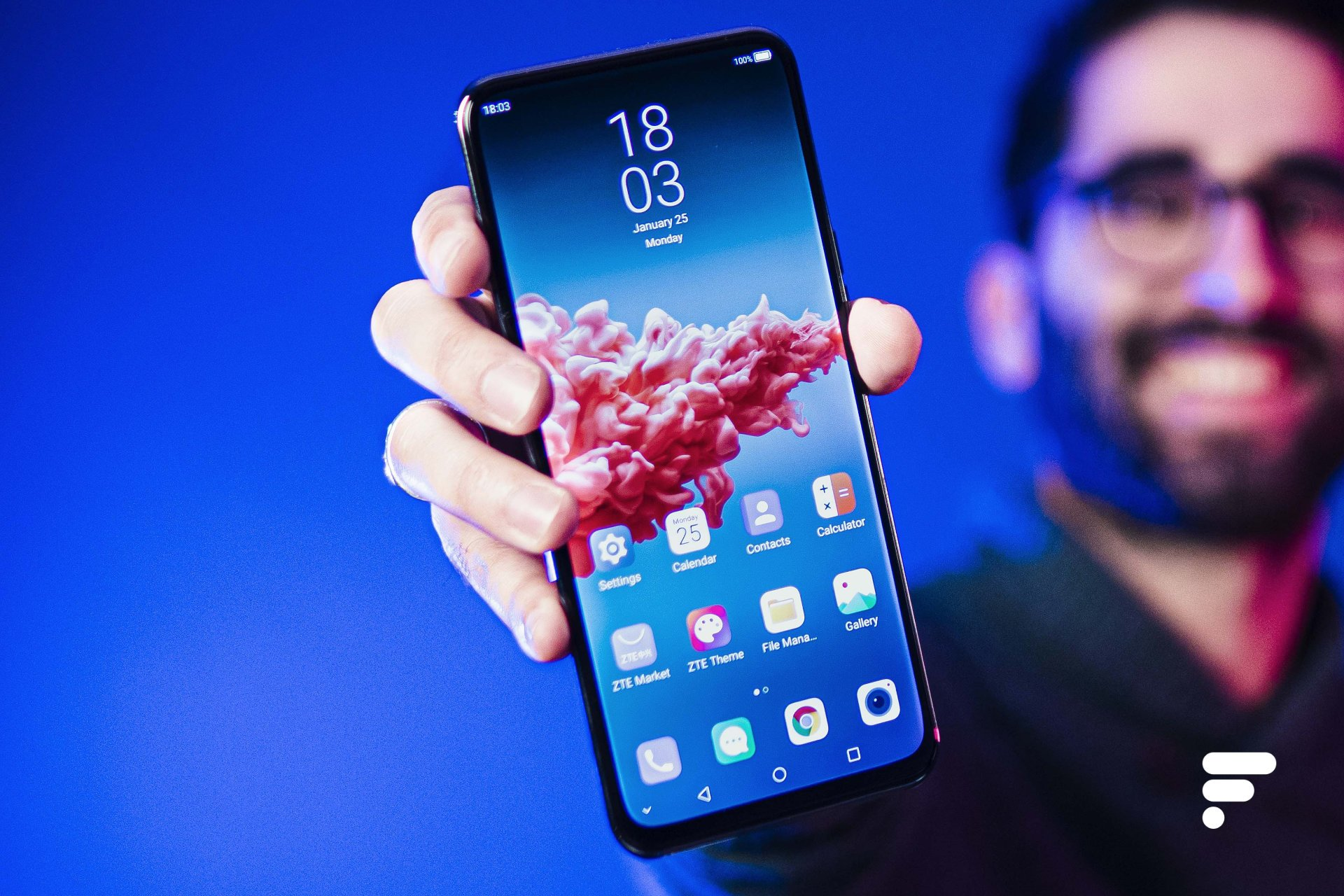 Smartphone avec caméra sous l'écran: une deuxième génération bien plus prometteuse
