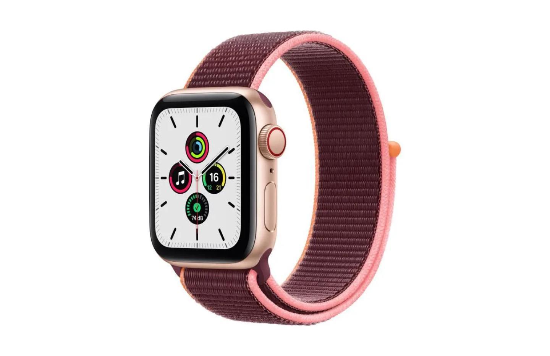 Apple Watch SE : 55 euros en moins pour la version 4G (en 40 mm)