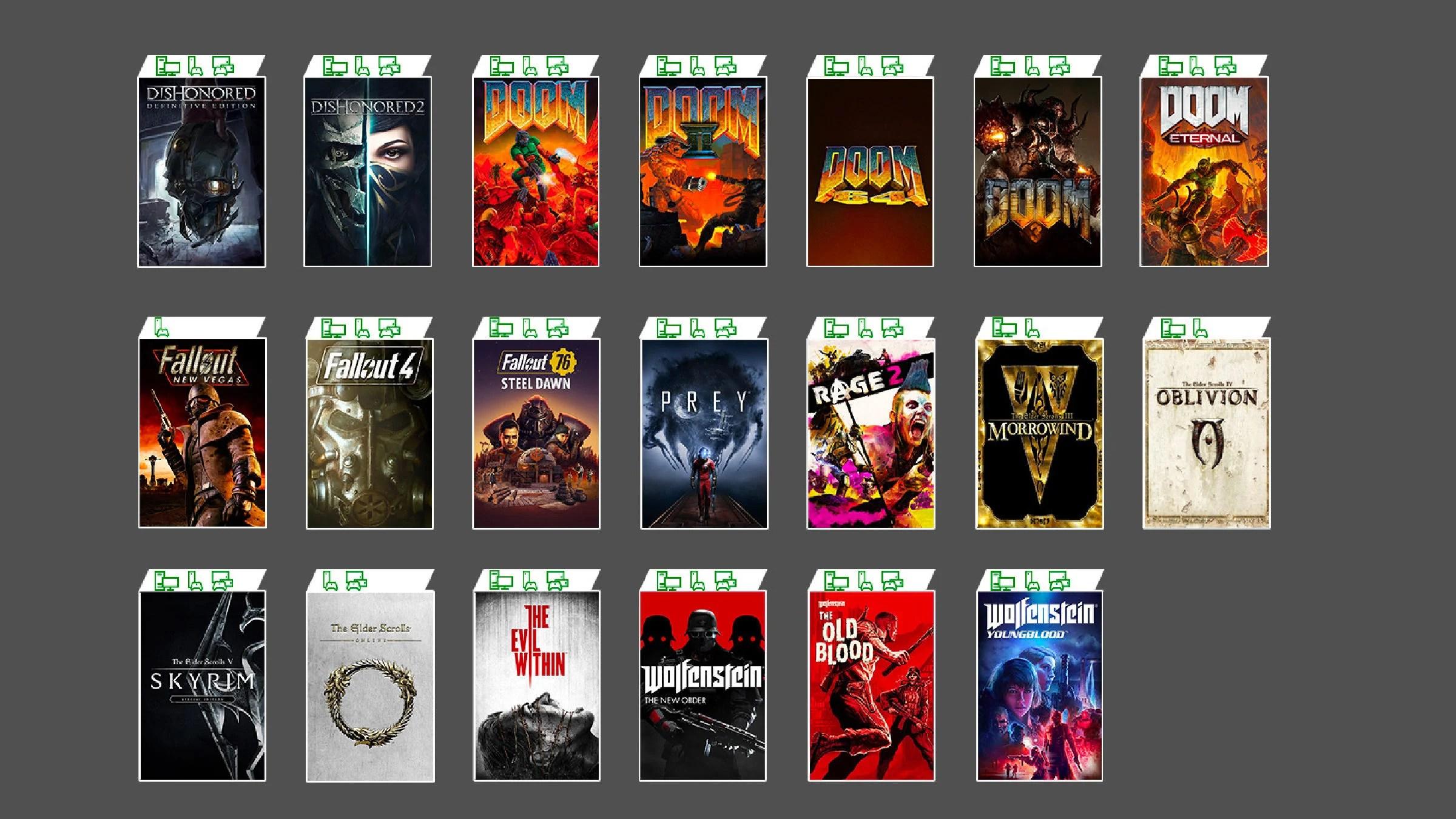 Xbox Game Pass : les jeux Bethesda font leur arrivée, vous pouvez jouer à Skyrim sur Android