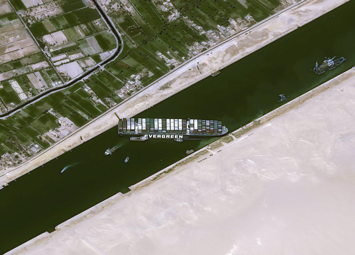 Canal de Suez bloqué : la pénurie dans la tech risque de s'aggraver