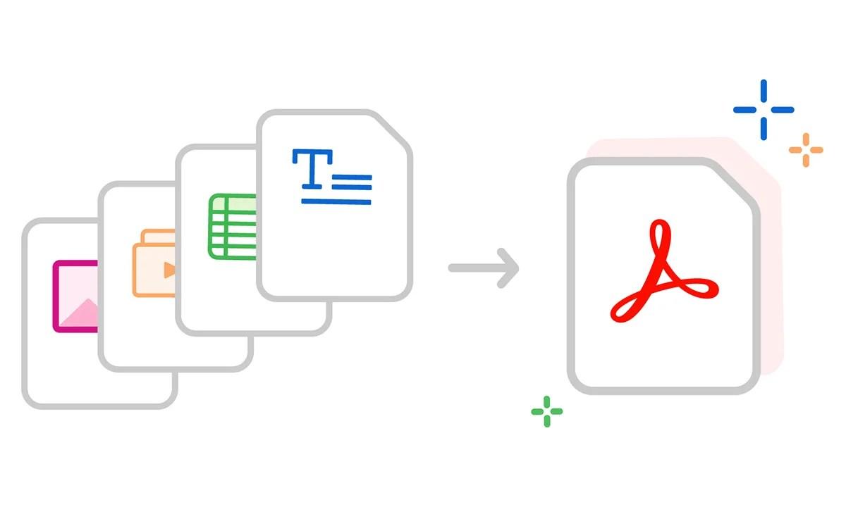 Comment convertir un fichier (.doc, .jpeg, etc.) en PDF?