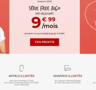Forfait mobile 80 Go à 9,99 €/mois : la réponse de Free pour contrer Orange