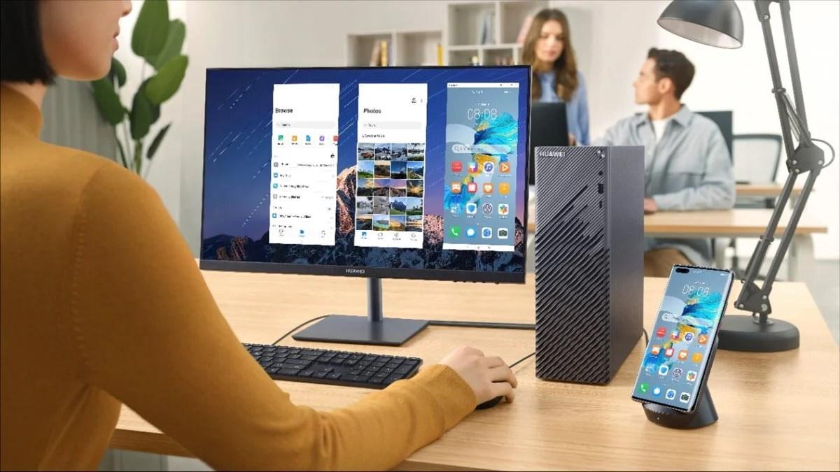 MateStation S : Huawei dévoile son premier PC de bureau en France