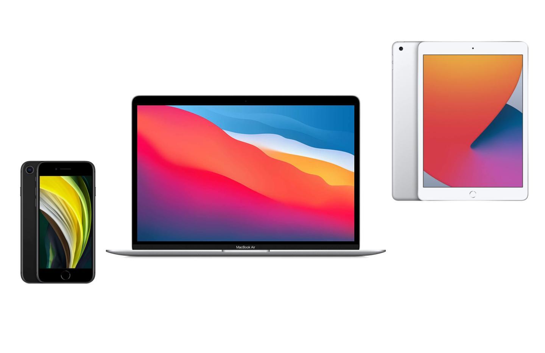 Amazon lance des promotions sur les MacBook Air M1, iPad et iPhone SE