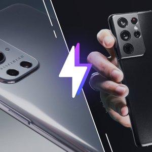 OnePlus 9 Pro vs Samsung Galaxy S21 Ultra: lequel est le meilleur smartphone?