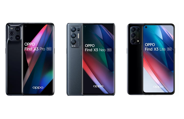 Où acheter les Oppo Find X3 Pro, Neo et Lite au meilleur prix en 2021 ?