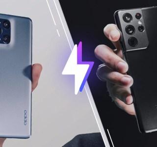 Oppo FindX3 Pro vs Samsung GalaxyS21 Ultra: lequel est le meilleur smartphone?