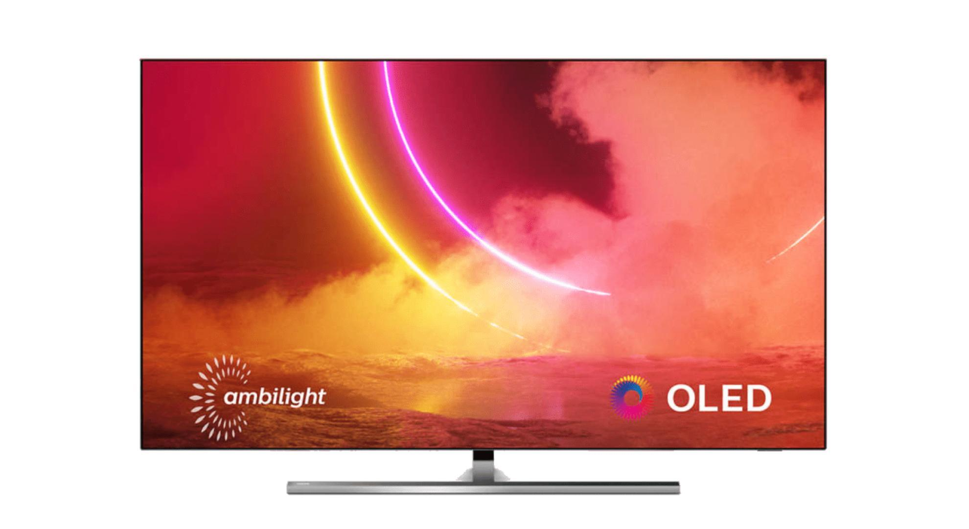 Philips 55OLED855 : TV 4K, Dolby Vision, HDR10+ et Ambilight à -300 €
