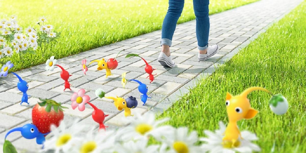 Après Pokémon Go, préparez-vous à jouer avec des Pikmin en réalité augmentée