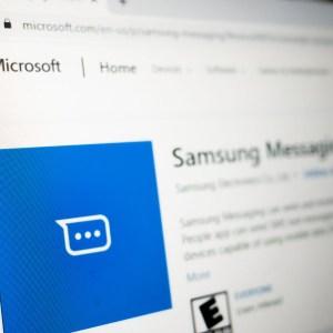 Les PC Samsung peuvent désormais envoyer directement des SMS sur Windows 10
