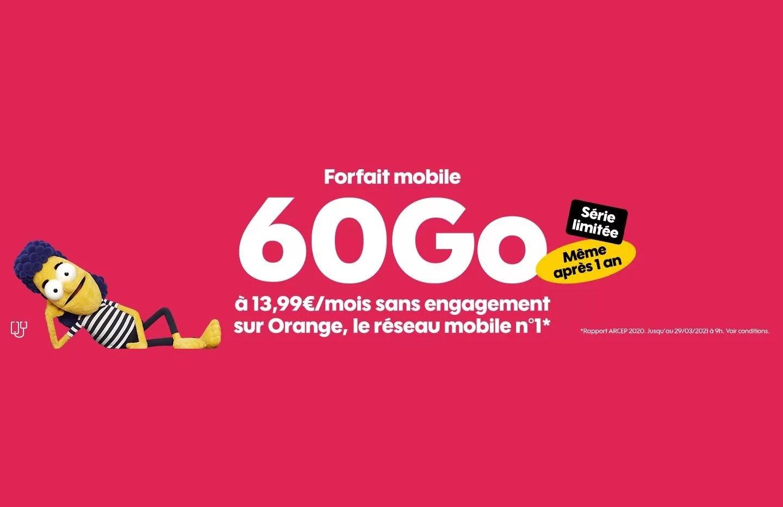 Forfait mobile : voici les offres sans engagement du mois de mars chez Sosh