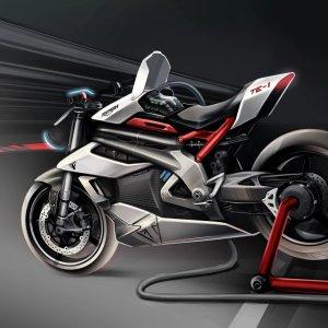 Le prototype TE-1 de Triumph est la moto électrique la plus ambitieuse du moment