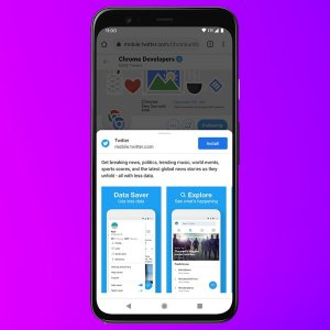 Google va simplifier l'installation des applications Web sur les smartphones Android