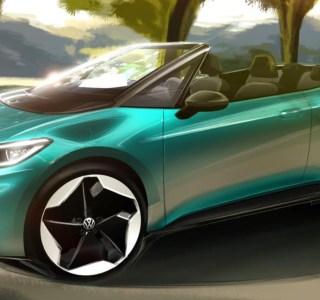 Une VolkswagenID.3 en version cabriolet? L'idée fait son chemin