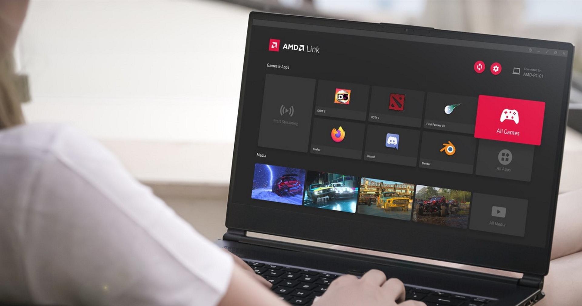 AMD Link arrive sur PC et l'interface de la suite Adrenalin se peaufine