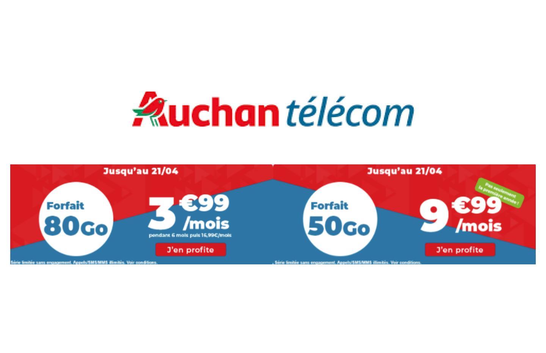 Beaucoup de 4G à petit prix avec ce forfait mobile 80 Go à 3,99 €/mois