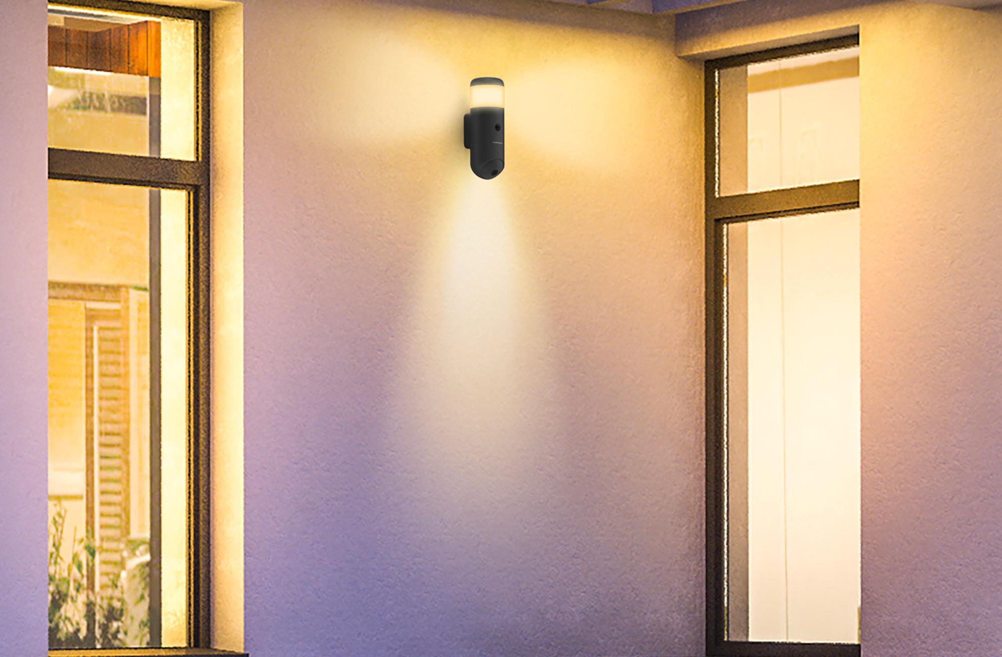Rheita 100 : la caméra extérieure motorisée qui sécurise, éclaire et alerte