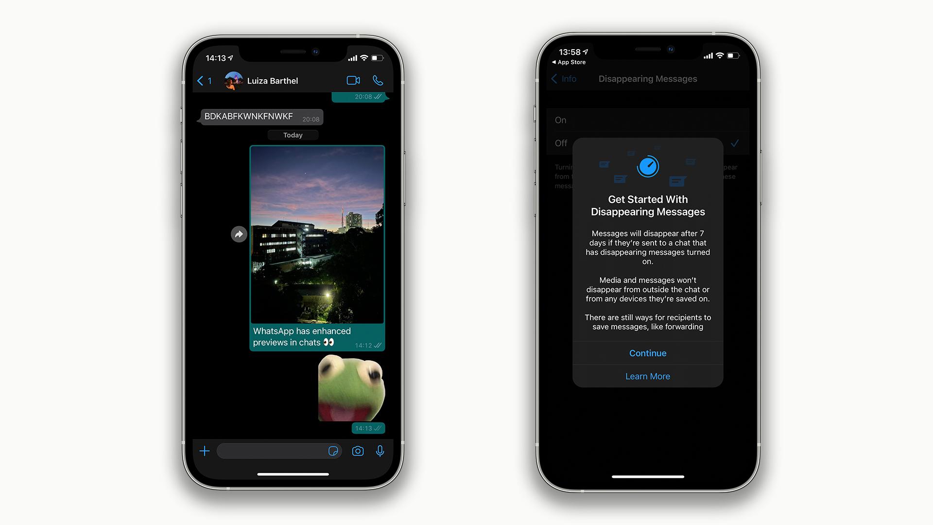 WhatsApp affiche enfin les fichiers multimédias en pleine largeur sur iPhone